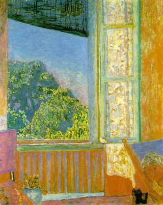 The Open Window by Pierre Bonnard